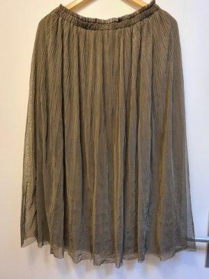 Amisu Tiulowa spódnica khaki