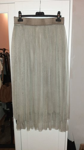 RM Tulle Skirt green grey-grey brown