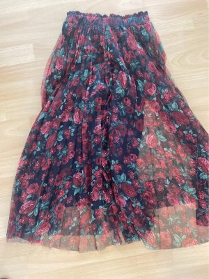Stradivarius Tulle Skirt multicolored