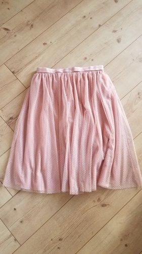 needle & thread Taffeta Skirt dusky pink