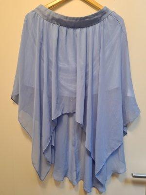 Gina Tricot Falda de tul azul celeste
