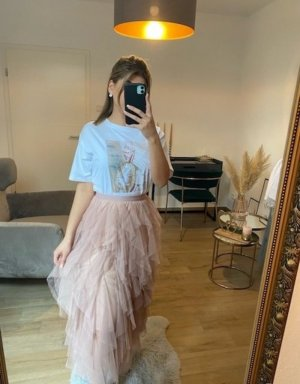 Boutique Comtesse Tulle Skirt light pink