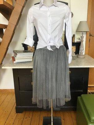 Tulle Skirt grey mixture fibre