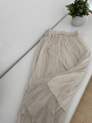 Heimatliebe Falda de tul crema