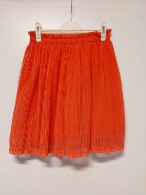 FB Sister Tiulowa spódnica czerwony neonowy-magenta