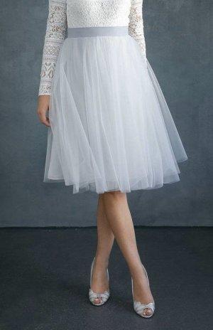 Tüllrock, kurz in Blau für die Hochzeit - Zoe der Marke Noni