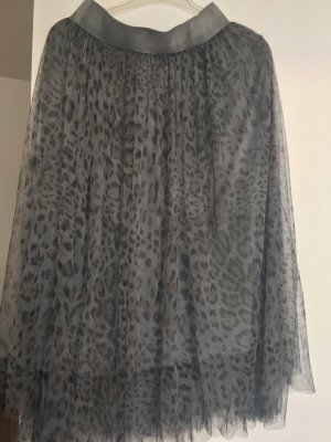Selected Touch Jupe en tulle gris