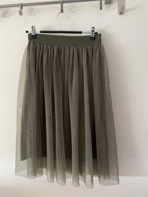 Only Tulle Skirt khaki