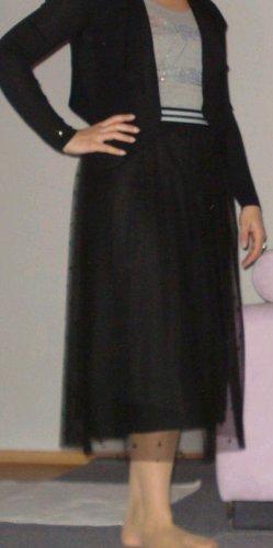Hugo Boss Tiulowa spódnica czarny