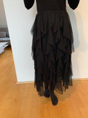 Zara Gonna di tulle nero