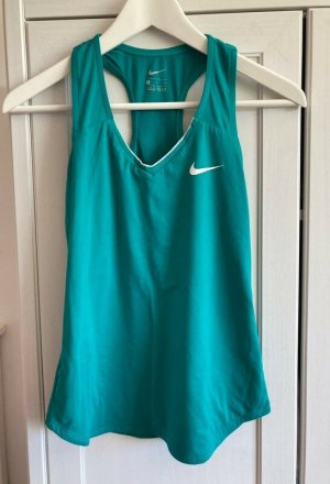Türkis/blau-grünes Nike Sporttop in der Größe S