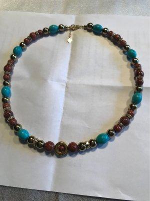 HANDMADE BY GERMANY Collar de perlas multicolor
