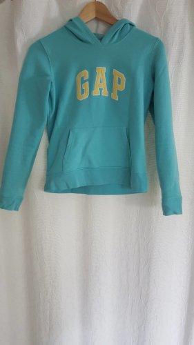 Gap Jersey con capucha turquesa-amarillo