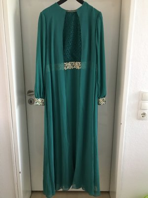 Türkis grünes Abendkleid