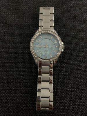 Türkis/Silberne Armband Uhr