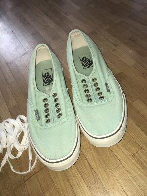 Vans Zapatos de patinador turquesa