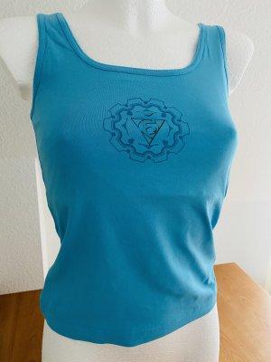Maglietta sport turchese-azzurro