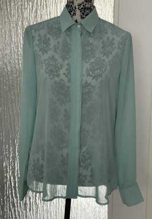 Ann Christine Long Sleeve Blouse turquoise