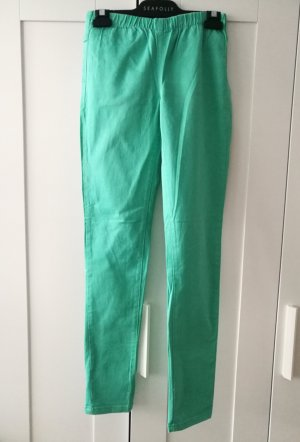 Pieces Jeggings turquoise