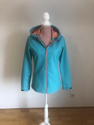 O'neill Softshell Jacket apricot-turquoise
