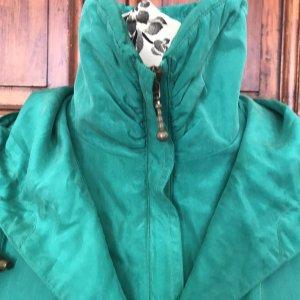 Veste oversize bleu clair-turquoise