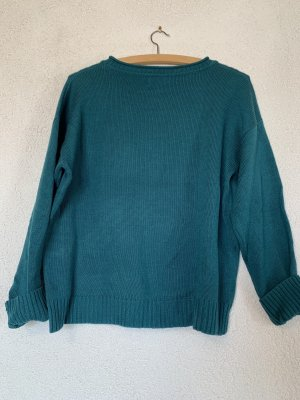 Türkiser / blauer Pullover