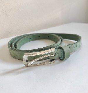 Vanzetti Leather Belt turquoise
