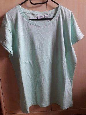 bpc bonprix collection T-Shirt sage green cotton