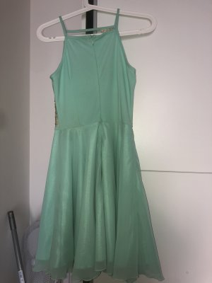 AX Bustier Dress turquoise-gold-colored