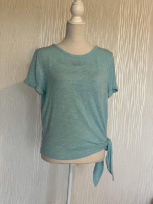 Colloseum T-shirts en mailles tricotées turquoise-vert menthe