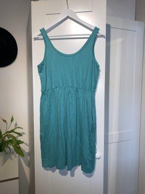 Türkises Mini-Kleid in Größe M von H&M