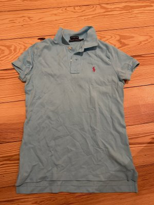 Ralph Lauren Polo Top light blue-turquoise