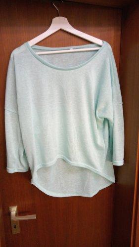 Oversized shirt turkoois
