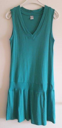 Cecilia Classics Shirt Dress turquoise cotton