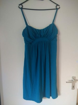 H&M Vestido de Verano turquesa