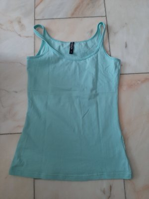 Colours of the World Spaghetti Strap Top baby blue-turquoise