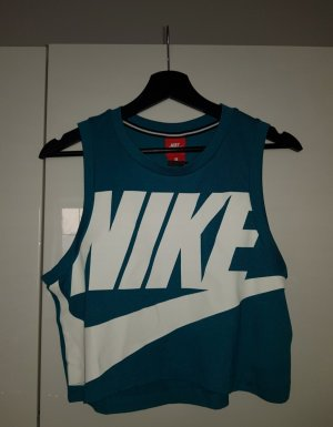 Nike Crop-top bleu cadet