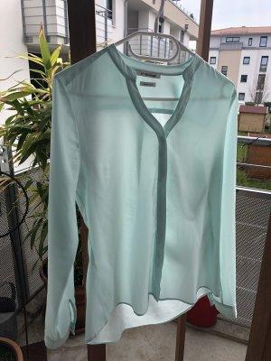 Türkisfarbene Bluse von rich&royal Größe 34