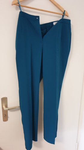 Helena Vera Jersey Pants turquoise polyester