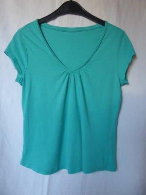 Türkisfarbenes T-Shirt