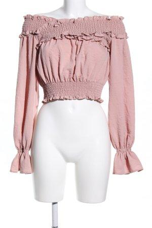 Tularosa Langarm-Bluse pink Elegant