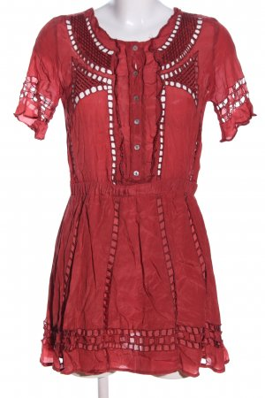 Tularosa Minikleid rot Casual-Look