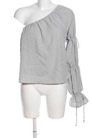 Tularosa One-Shoulder-Top hellgrau Casual-Look