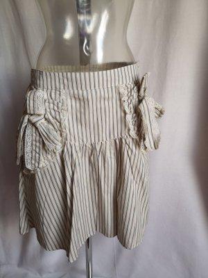 Tulpenrock mit Taschen im Streifen Design!