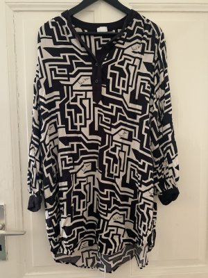 Richard Allen x H&M Blusa larga negro-blanco