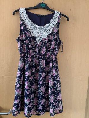 Blind Date Sukienka tunika niebieski-różowy
