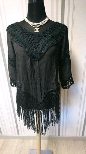 Strandkleding zwart Gemengd weefsel