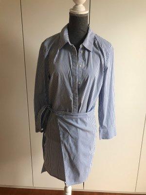 someday Bluzka tunika biały-niebieski