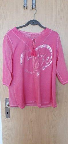 Soccx Blusa a tunica rosa