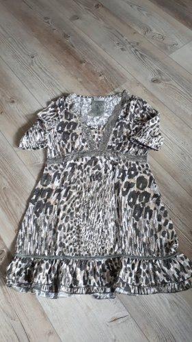 Street One Tunique-blouse argenté-brun